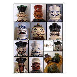 Miska Krug-Postkarte Postkarte