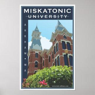 Miskatonic Hochschulplakat Poster
