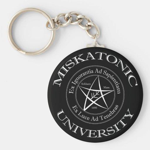 Miskatonic Universität Keychain Schlüsselanhänger