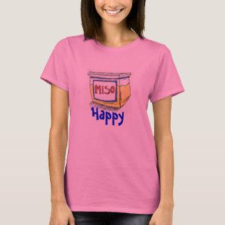 Miso-glückliches langes Sleeved Shirt