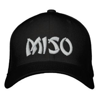 MISO Suppen-Hut - kundenspezifische Farbe u. Text Bestickte Kappe