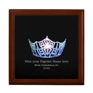 Miss Amerika-Art Special spricht Trinket-Kasten zu Geschenkbox