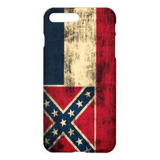 Mississippi-Flaggen-Schmutz iPhone 8 Plus/7 Plus Hülle