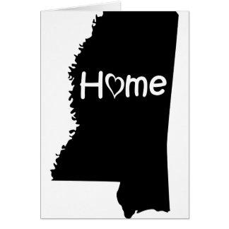 Mississippi Karte