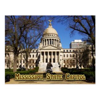 Mississippi-Staats-Hauptstadts-Gebäude, Jackson Postkarte