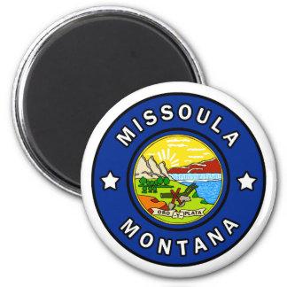 Missoula Montana Runder Magnet 5,1 Cm