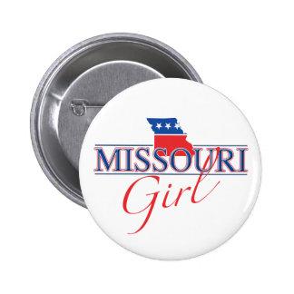 Missouri-Mädchen-Knopf Buttons