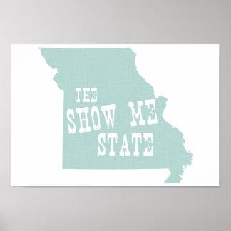 Missouri-Slogan Poster