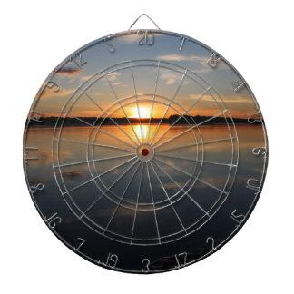 Missouri-Sonnenuntergang Dartscheibe