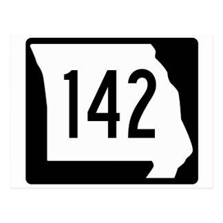 Missouri-Weg 142 Postkarte