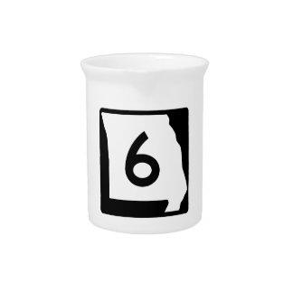 Missouri-Weg 6 Getränke Pitcher