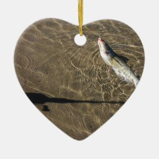 Missouri-Wels Keramik Herz-Ornament
