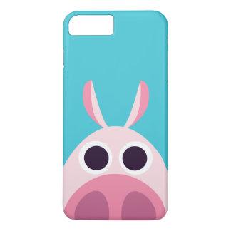 Misstrauisch das Schwein iPhone 8 Plus/7 Plus Hülle