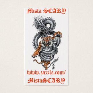 MistaSCARY Visitenkarten