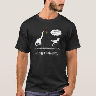MISTELZWEIG-LUSTIGES WEIHNACHTEN T-Shirt