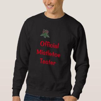 Mistelzweig-Prüfvorrichtung Sweatshirt