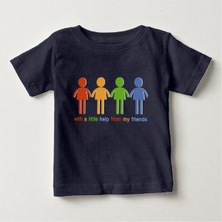 Mit A wenig Hilfe von meinen Freunden Baby T-shirt