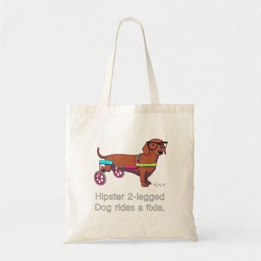 Mit Beinen versehene Hundetasche des Hipster-2 Taschen