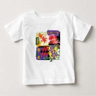 Mit Blumen - Baby t'shirts Baby T-shirt