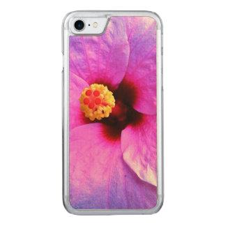 Mit Blumen, Blumen, iPhone 6 dünnes Ahorn-Holz Carved iPhone 7 Hülle