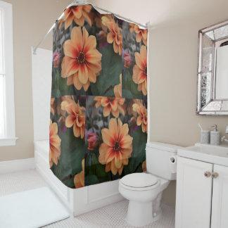 Mit Blumen Duschvorhang