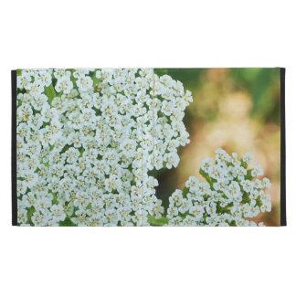mit Blumen