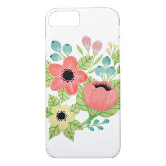 Mit Blumen iPhone 8/7 Hülle