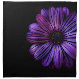 Mit Blumen, Kunst, Entwurf, schön, neu, Mode Stoffserviette
