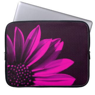 mit Blumen Laptopschutzhülle