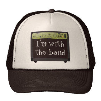 Mit dem Band-Hut Trucker Cap