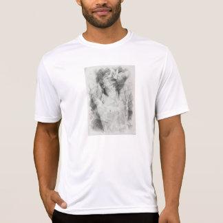 Mit dem Schönen Stil und T-Shirt