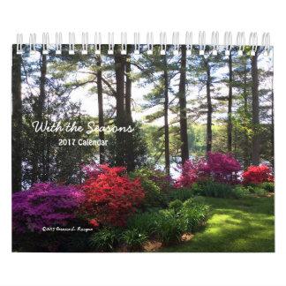 Mit den Jahreszeiten - Kalender 2017 ---