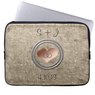 Mit diesem Ring durch Shirley Taylor Laptopschutzhülle