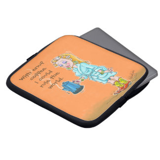 Mit enuf Kaffee iPad Fall Laptopschutzhülle