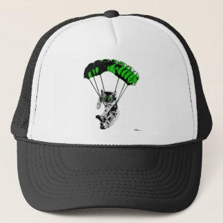 Mit Fallschirm abspringenkätzchen Truckerkappe