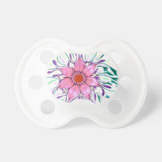 Mit Federn versehene Blume Schnuller