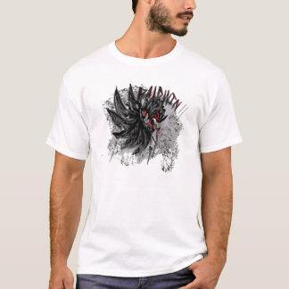 mit Federn versehener Tomahawk T-Shirt