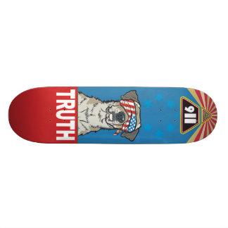 Mit Freiheit und Gerechtigkeit für Alle alte Schul 20,1 Cm Skateboard Deck