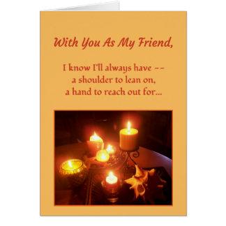 Mit Ihnen als meinem Freund… Karte