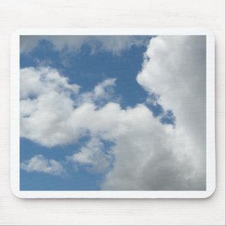 Mit Ihrem Text besonders anzufertigen Wolken, Mauspad
