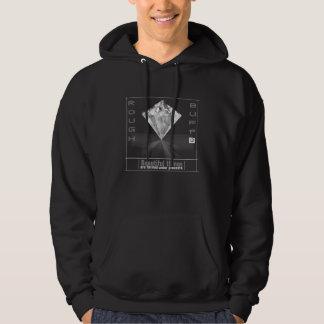 Mit Kapuze der Diamant-Sweatshirt der rauen und Hoodie