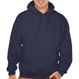 Mit Kapuze Sweatshirt dunkel