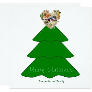 Mit Liebe von der Texas-Weihnachtskarte Karte
