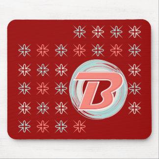 "Mit Monogramm ""B"" Mousepad"