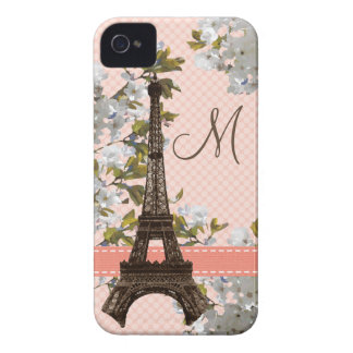 Mit Monogramm Eiffel-Turm iPhone 4 Case-Mate kaum
