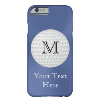 Mit Monogramm Golf iPhone Fall für Männer Barely There iPhone 6 Hülle