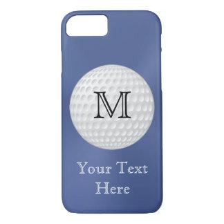 Mit Monogramm Golf iPhone Fall für Männer iPhone 7 Hülle