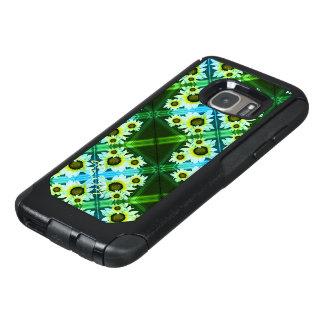 Mit Monogramm Grün der Gänseblümchen OtterBox Samsung Galaxy S7 Hülle