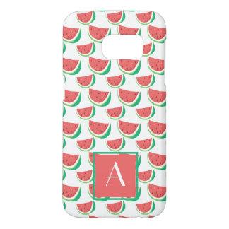 Mit Monogramm Hüllenen-Wassermelone