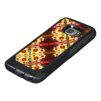 Mit Monogramm Orange der Gänseblümchen OtterBox Samsung Galaxy S7 Hülle